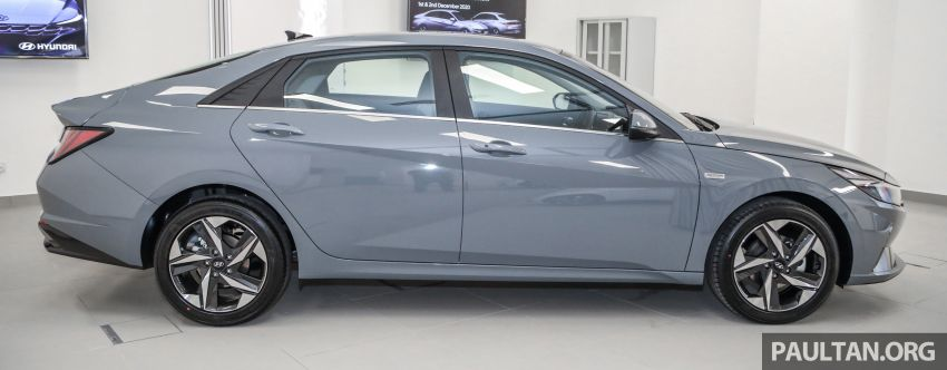 2021 Hyundai Elantra now in Malaysia – full specs and gallery of the 7th-gen 1.6L IVT sedan, launch next week Image #1219773
