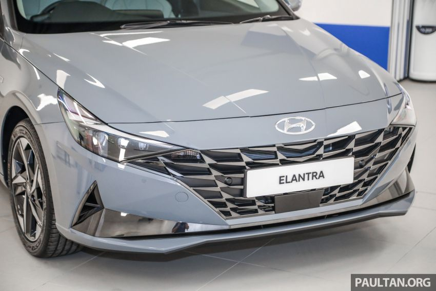 2021 Hyundai Elantra now in Malaysia – full specs and gallery of the 7th-gen 1.6L IVT sedan, launch next week Image #1219774