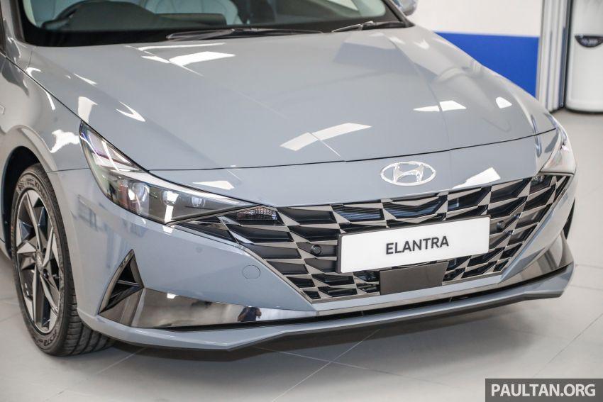 Hyundai Elantra 2021 dilancar di Malaysia minggu depan – spesifikasi penuh sedan 1.6L IVT didedahkan Image #1220150