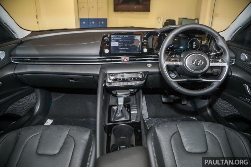 Hyundai Elantra 2021 dilancar di Malaysia minggu depan – spesifikasi penuh sedan 1.6L IVT didedahkan Image #1220245