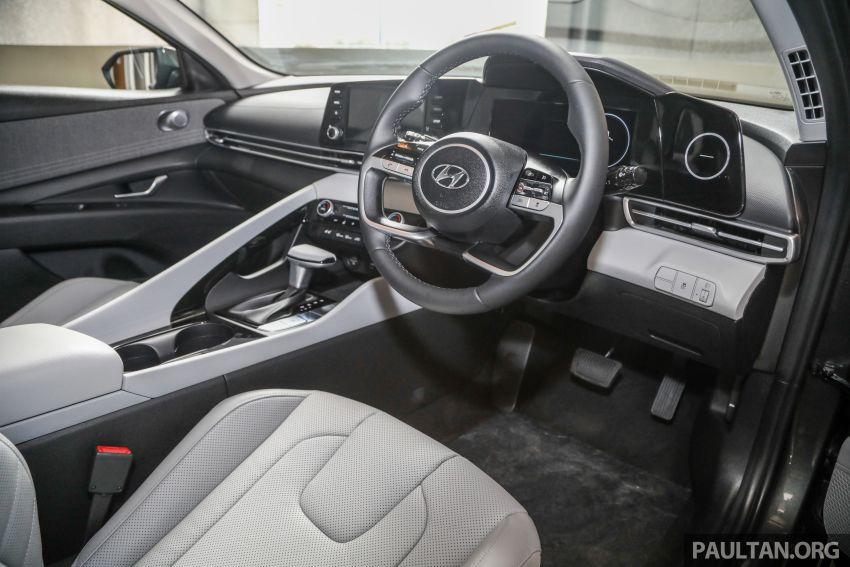 Hyundai Elantra 2021 dilancar di Malaysia minggu depan – spesifikasi penuh sedan 1.6L IVT didedahkan Image #1220264