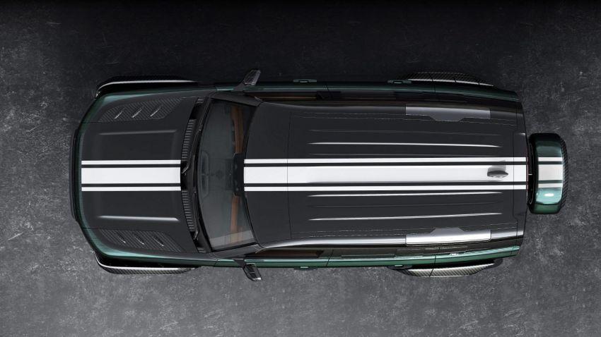 Land Rover Defender Racing Green Edition – ubah suai Carlex Design dari Poland, harga RM420k Image #1220566