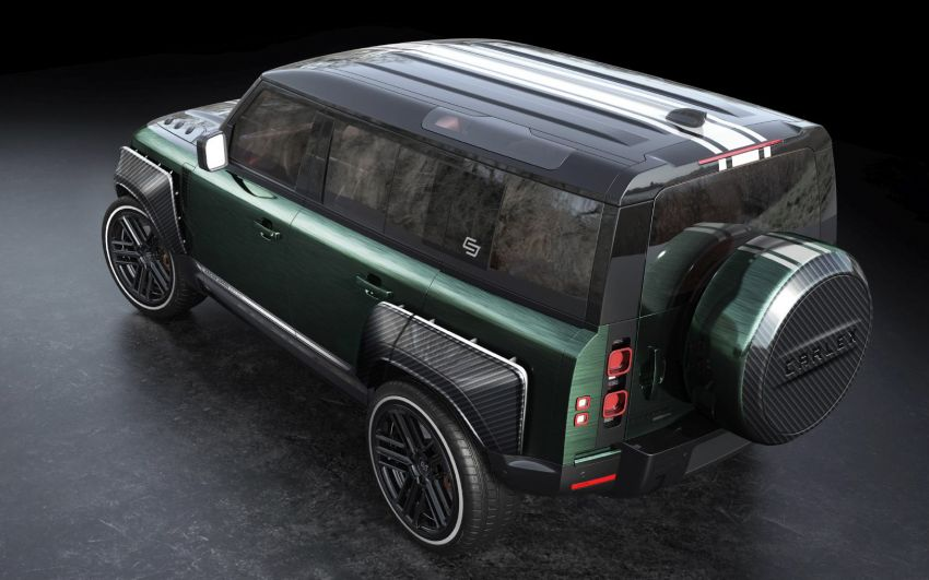 Land Rover Defender Racing Green Edition by Carlex Design – brown and green-themed SUV; RM420k Image #1220520