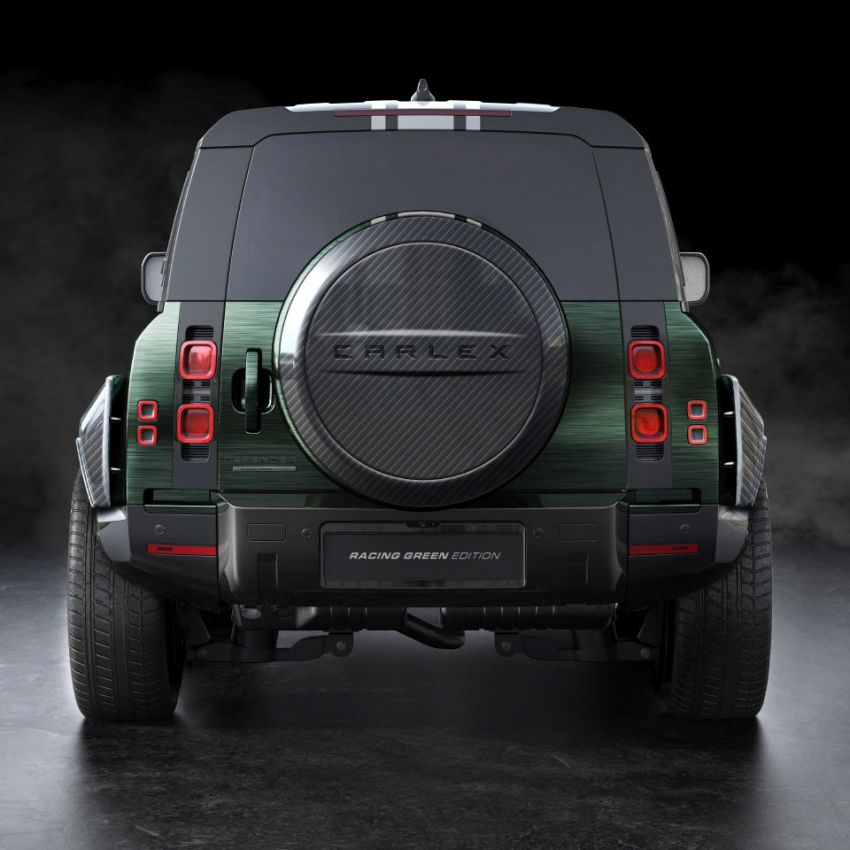 Land Rover Defender Racing Green Edition by Carlex Design – brown and green-themed SUV; RM420k Image #1220521
