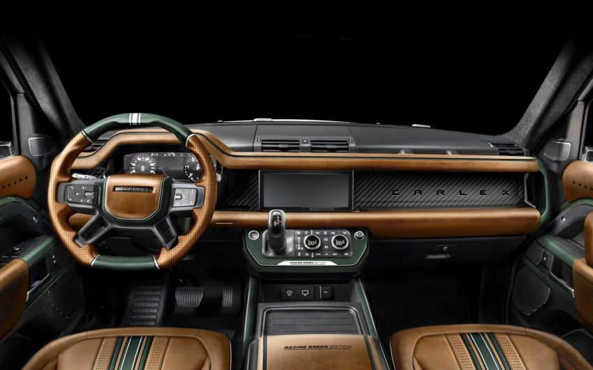 Land Rover Defender Racing Green Edition by Carlex Design – brown and green-themed SUV; RM420k Image #1220523