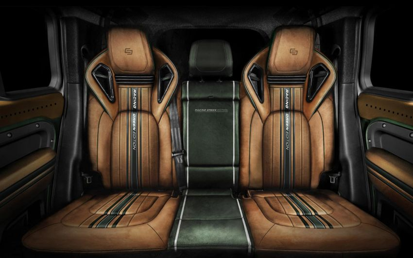 Land Rover Defender Racing Green Edition by Carlex Design – brown and green-themed SUV; RM420k Image #1220524