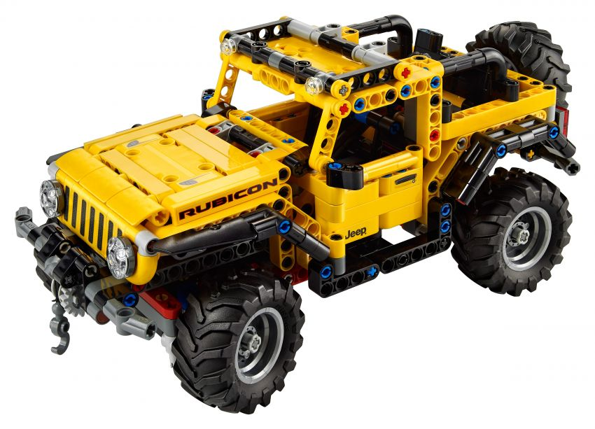 Lego Technic Jeep Wrangler Rubicon revealed – 665-piece set with articulating suspension and winch Image #1220662