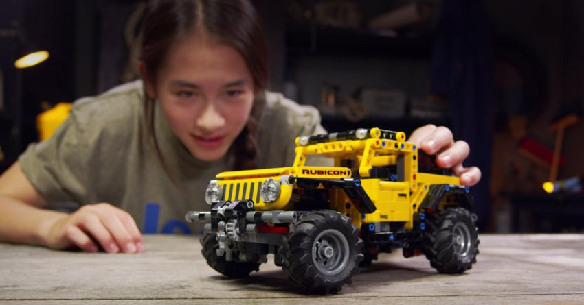 Lego Technic Jeep Wrangler Rubicon revealed – 665-piece set with articulating suspension and winch Image #1220658