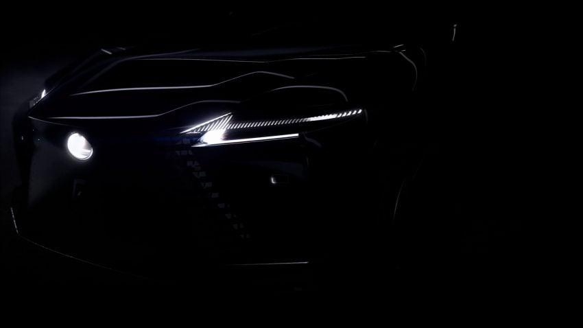 Lexus reveals Direct4 technology for future hybrid, EV models – new concept previews brand's future design Image #1221869