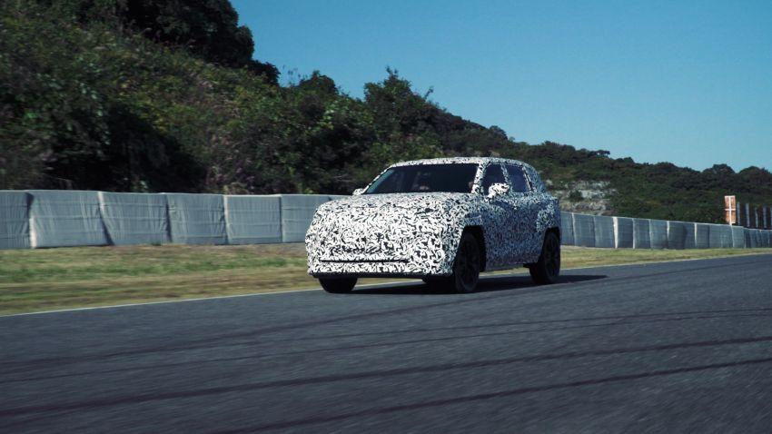 Lexus reveals Direct4 technology for future hybrid, EV models – new concept previews brand's future design Image #1221877