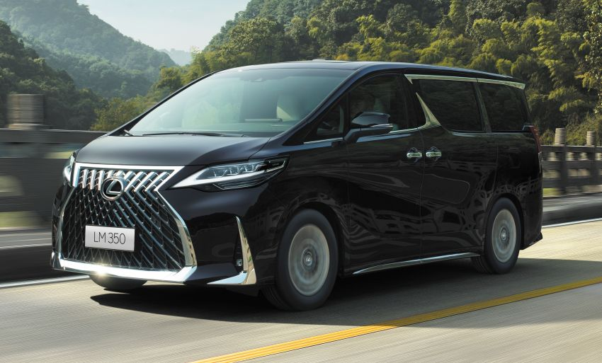 Lexus LM350 – order books officially open for four-seat luxury MPV, Malaysian launch in May, RM1.15 mil Image #1227878