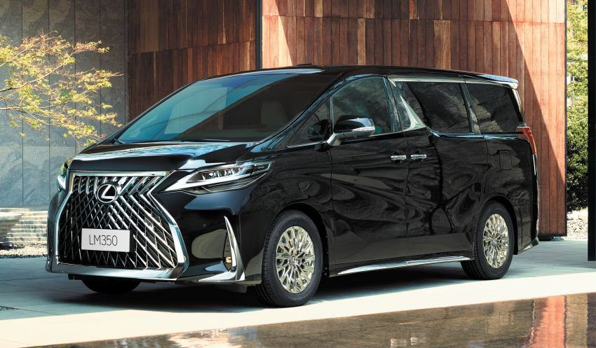 Lexus LM350 – order books officially open for four-seat luxury MPV, Malaysian launch in May, RM1.15 mil Image #1227879