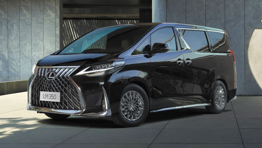 Lexus LM350 – order books officially open for four-seat luxury MPV, Malaysian launch in May, RM1.15 mil Image #1227880