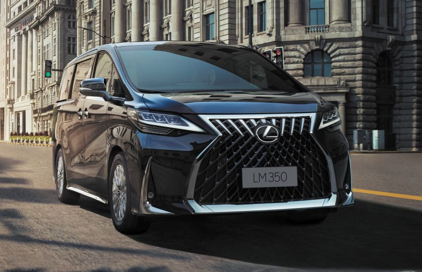 Lexus LM350 – order books officially open for four-seat luxury MPV, Malaysian launch in May, RM1.15 mil Image #1227881