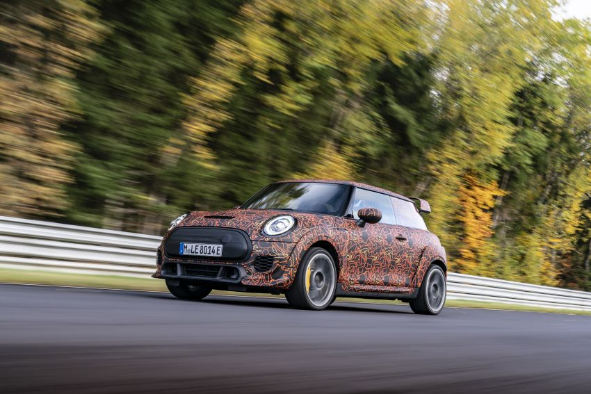 MINI John Cooper Works EV models in development; petrol JCW models to coexist with electric versions Image #1219963