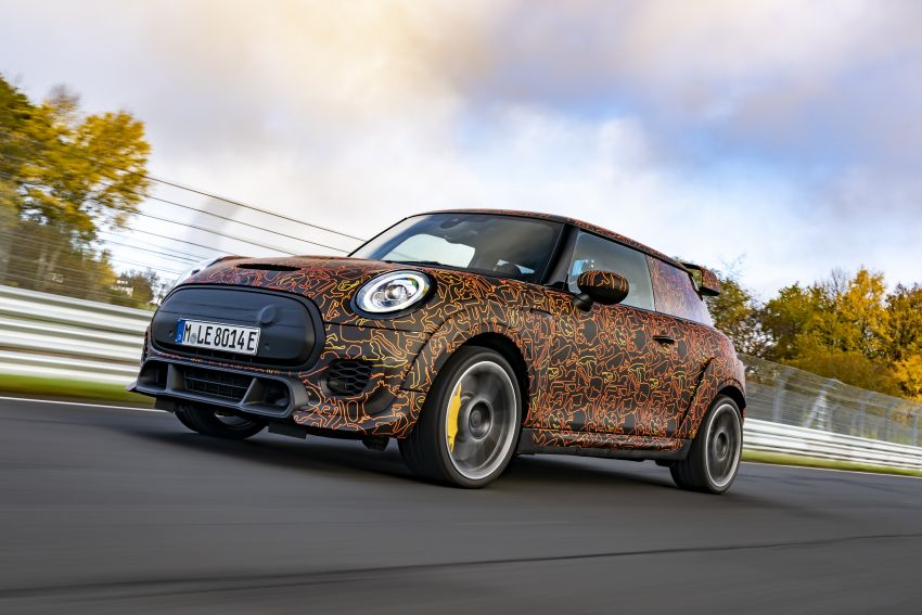 MINI John Cooper Works EV models in development; petrol JCW models to coexist with electric versions Image #1219965