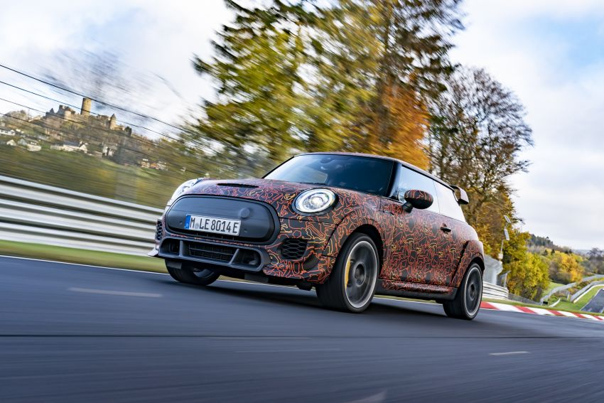 MINI John Cooper Works EV models in development; petrol JCW models to coexist with electric versions Image #1219966