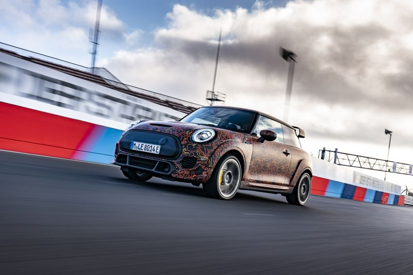 MINI John Cooper Works EV models in development; petrol JCW models to coexist with electric versions Image #1219967