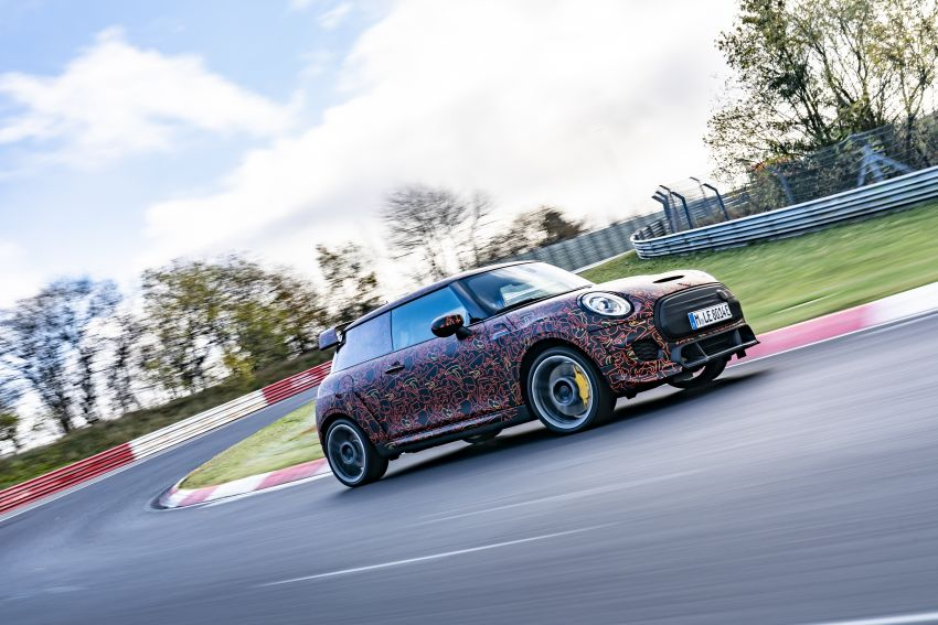 MINI John Cooper Works EV models in development; petrol JCW models to coexist with electric versions Image #1219968