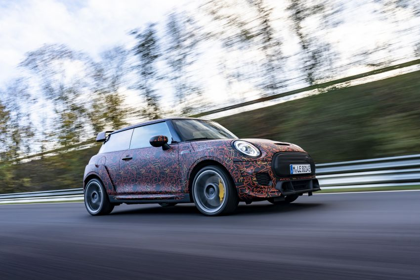 MINI John Cooper Works EV models in development; petrol JCW models to coexist with electric versions Image #1219969