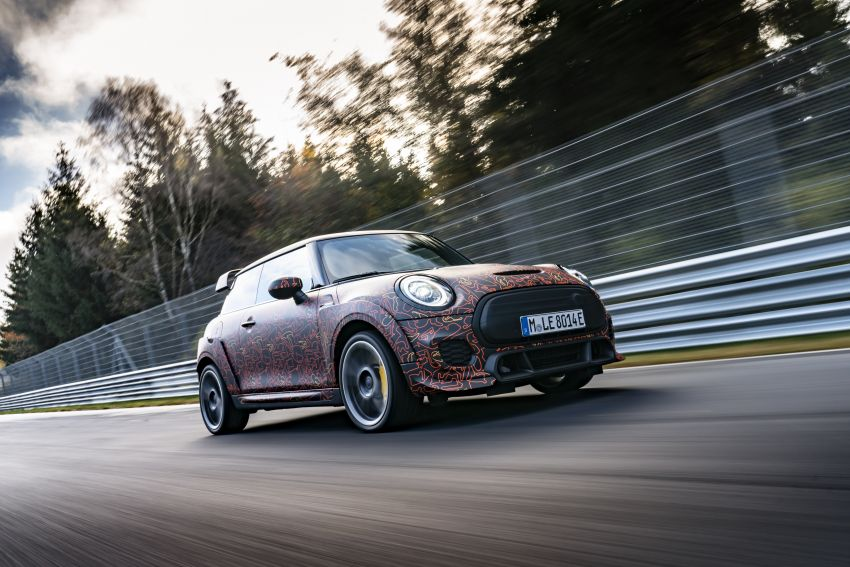 MINI John Cooper Works EV models in development; petrol JCW models to coexist with electric versions Image #1219970