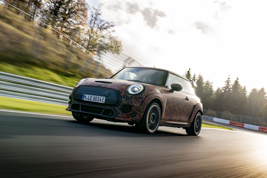 MINI John Cooper Works EV models in development; petrol JCW models to coexist with electric versions Image #1219972