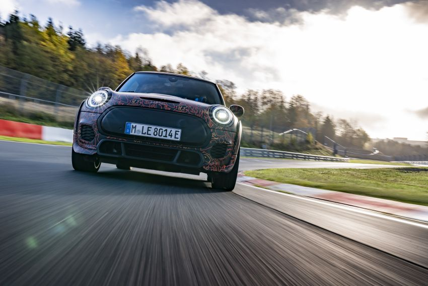 MINI John Cooper Works EV models in development; petrol JCW models to coexist with electric versions Image #1219973