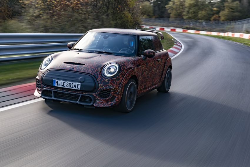 MINI John Cooper Works EV models in development; petrol JCW models to coexist with electric versions Image #1219975