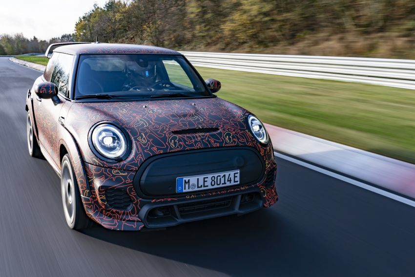 MINI John Cooper Works EV models in development; petrol JCW models to coexist with electric versions Image #1219977