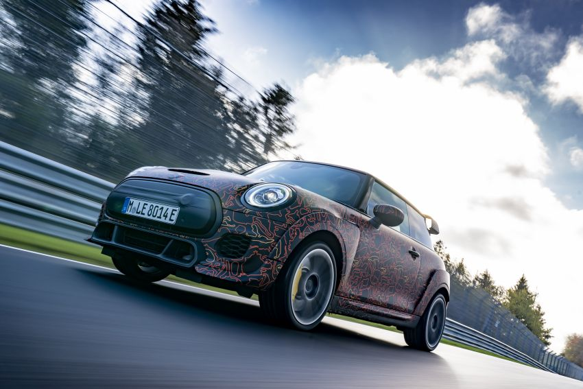 MINI John Cooper Works EV models in development; petrol JCW models to coexist with electric versions Image #1219979