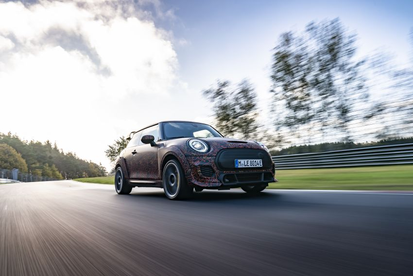 MINI John Cooper Works EV models in development; petrol JCW models to coexist with electric versions Image #1219981