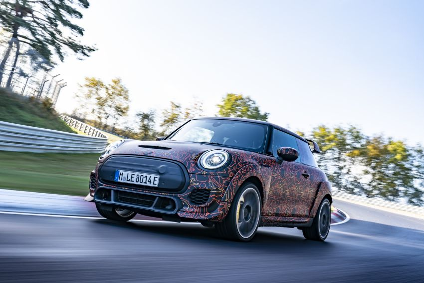 MINI John Cooper Works EV models in development; petrol JCW models to coexist with electric versions Image #1219984