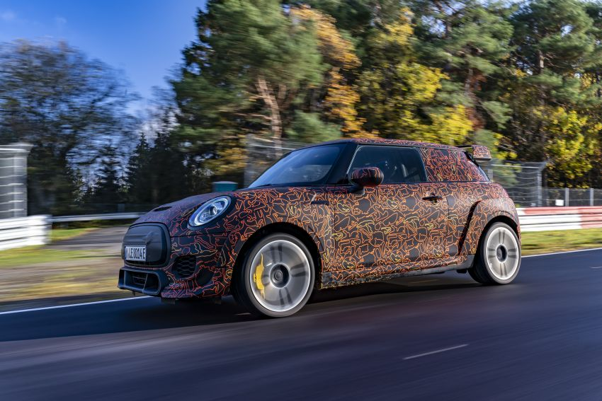 MINI John Cooper Works EV models in development; petrol JCW models to coexist with electric versions Image #1219985