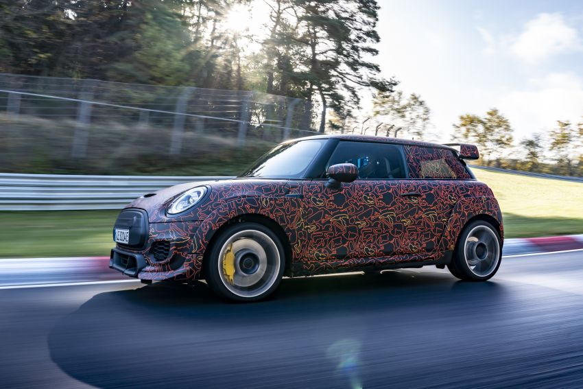 MINI John Cooper Works EV models in development; petrol JCW models to coexist with electric versions Image #1219986