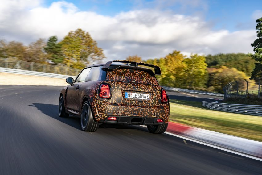 MINI John Cooper Works EV models in development; petrol JCW models to coexist with electric versions Image #1219987