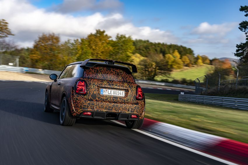 MINI John Cooper Works EV models in development; petrol JCW models to coexist with electric versions Image #1219988
