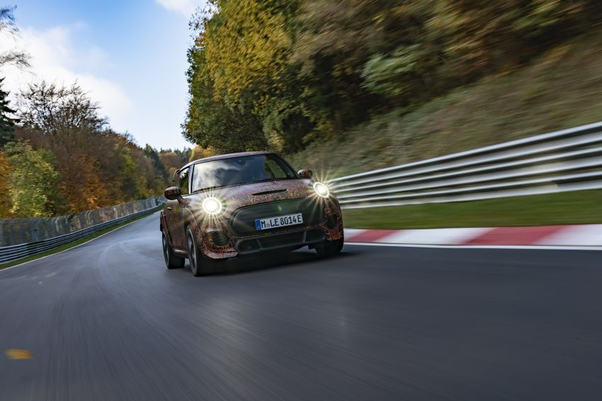 MINI John Cooper Works EV models in development; petrol JCW models to coexist with electric versions Image #1219990