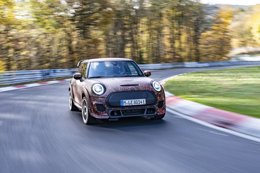MINI John Cooper Works EV models in development; petrol JCW models to coexist with electric versions Image #1219991