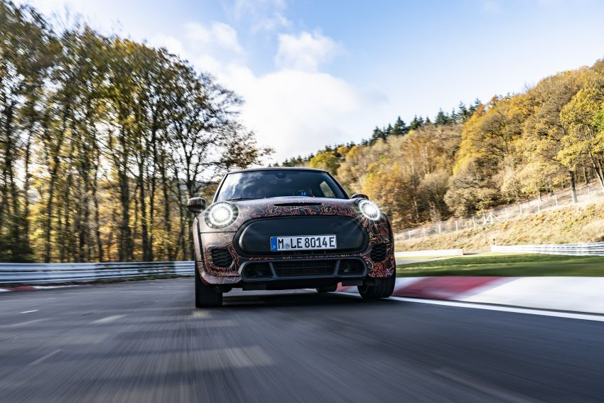 MINI John Cooper Works EV models in development; petrol JCW models to coexist with electric versions Image #1219993