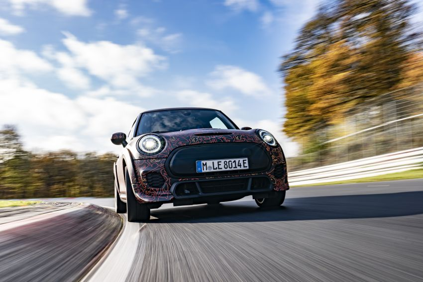 MINI John Cooper Works EV models in development; petrol JCW models to coexist with electric versions Image #1219994