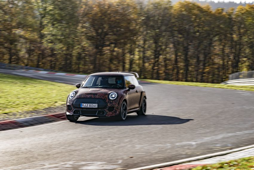 MINI John Cooper Works EV models in development; petrol JCW models to coexist with electric versions Image #1219995