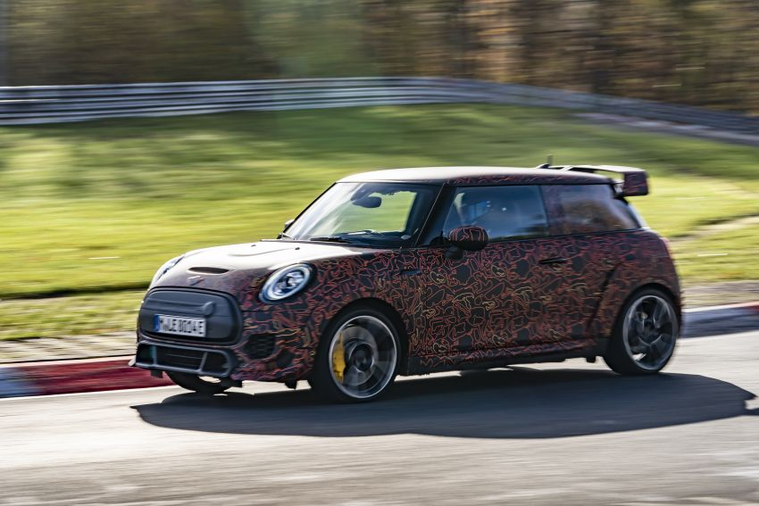 MINI John Cooper Works EV models in development; petrol JCW models to coexist with electric versions Image #1219996