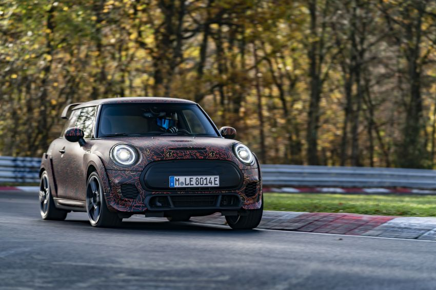 MINI John Cooper Works EV models in development; petrol JCW models to coexist with electric versions Image #1219998
