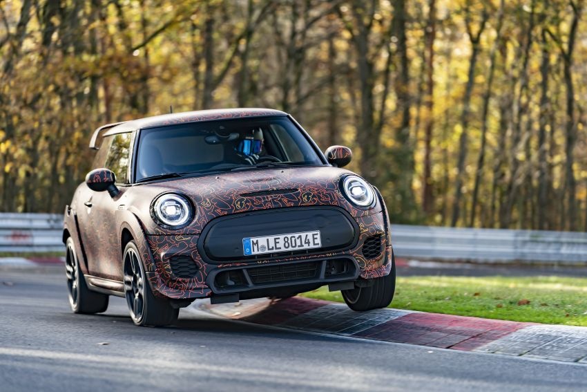 MINI John Cooper Works EV models in development; petrol JCW models to coexist with electric versions Image #1219999