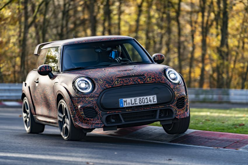 MINI John Cooper Works EV models in development; petrol JCW models to coexist with electric versions Image #1220000
