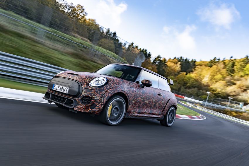 MINI John Cooper Works EV models in development; petrol JCW models to coexist with electric versions Image #1220001