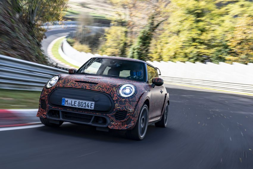 MINI John Cooper Works EV models in development; petrol JCW models to coexist with electric versions Image #1220003