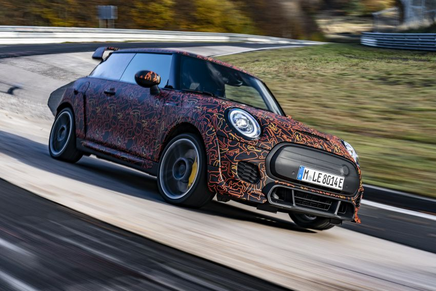 MINI John Cooper Works EV models in development; petrol JCW models to coexist with electric versions Image #1220004