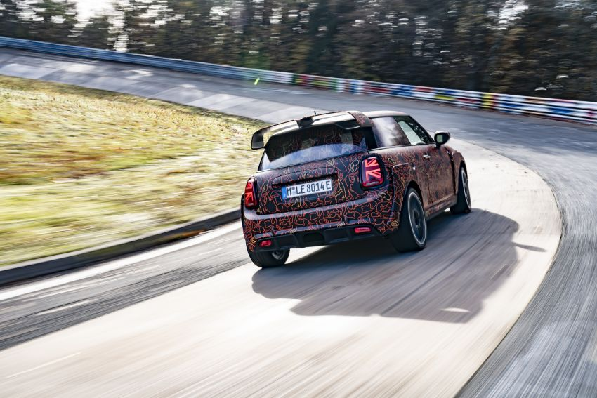 MINI John Cooper Works EV models in development; petrol JCW models to coexist with electric versions Image #1220005