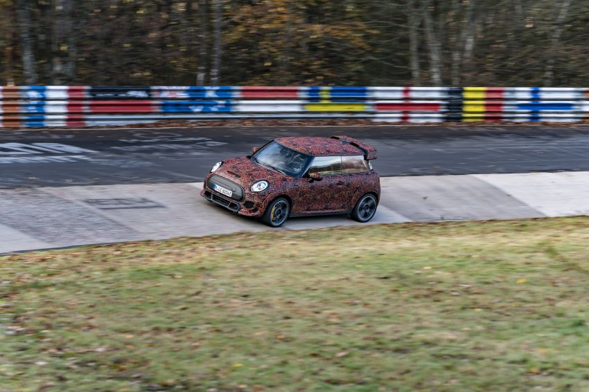 MINI John Cooper Works EV models in development; petrol JCW models to coexist with electric versions Image #1220006
